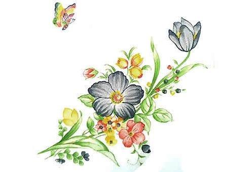 זר פרחי בר